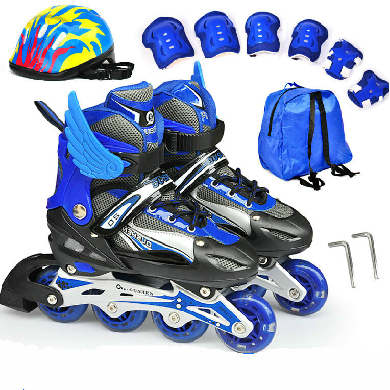 Aliexpress.com : Buy Children Inline Roller Skate Shoes Kids ...