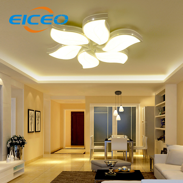 (EICEO) LED Ceiling Lamp Living Room Atmosphere Modern Minimalist Master  Bedroom Balcony Lighting Lamps