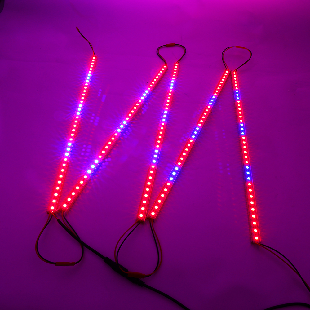 10pcs Lot 0 5m Dc12v 27red 9blue 10w Led Grow Light Bars Strips For Hydroponic Plant Flowers Vegatables Greens In Lights From