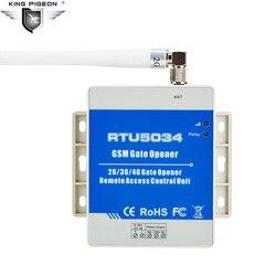 GSM المرآب فتحت باب التحكم عن بعد التلقائي بوابة باب لوحة تحكم انزلاق الباب المحرك وحدة تحكم RTU5034 3G اختياري