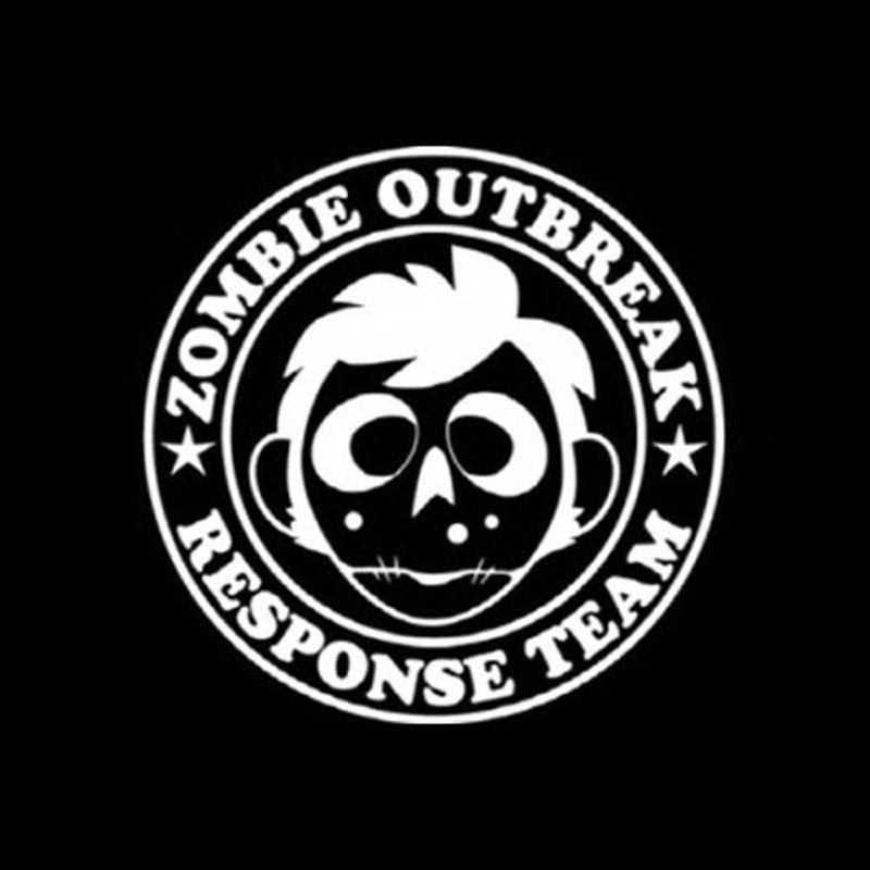 Yjzt 1212cm Zombie Outbreak Response Deca Interesting Vinyl Car