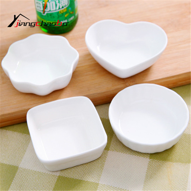 Pure Color Seasoning Dish Small Ceramic Saucer Dish Flavored Plate Spice Dish Kitchen Tools Vinegar Snack & Pure Color Seasoning Dish Small Ceramic Saucer Dish Flavored Plate ...