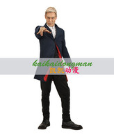 Doctor Who 12th Doctor Peter Capaldi Uniform Trench Coat For Men Cosplay Costume Custom Made