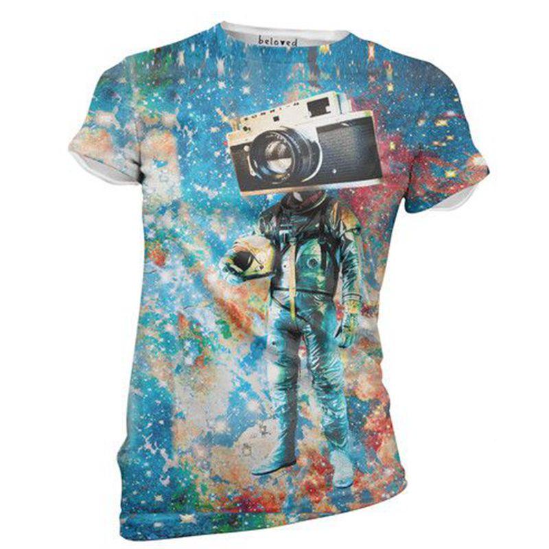 Camera 3d T Shirt