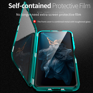 Image 2 - Magnetic Metal Case for Huawei P30 P20 Mate 20 X 10 Honor 20 10 Pro Lite 8x 20i V20 Nova 5 5i 4e 3e P Smart Plus Z Y9 2019 Cover