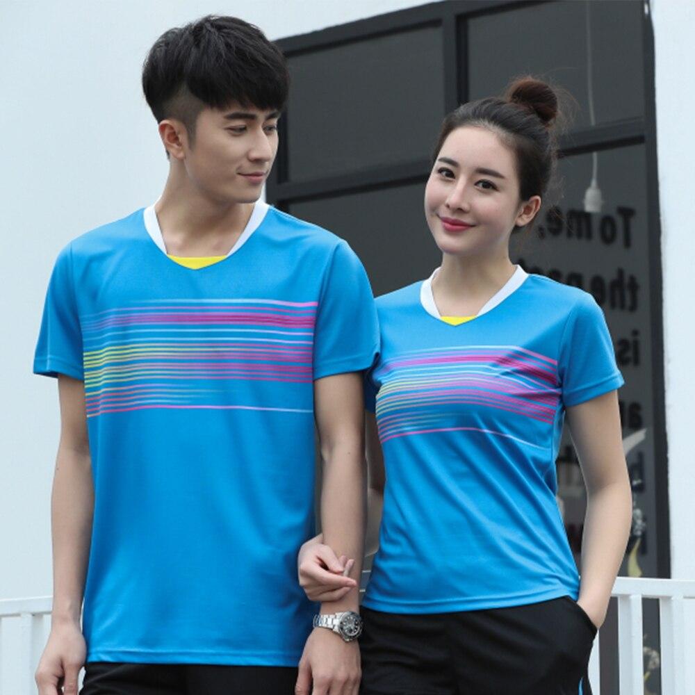 New Quick dry Badminton t shirt Men/Womens , sports badminton clothes ,Table Tennis shirt , Tennis t shirt AY008