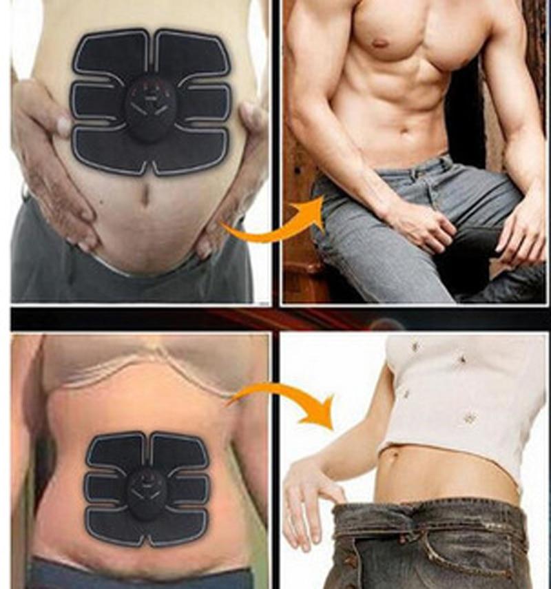 EMS Electronic Muscle Training Belt AB Abdominal Stimulation Toning Massager with Massage Belt KXS-12