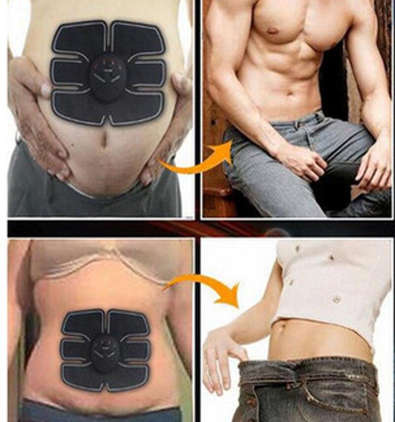 3ed593329b EMS Electronic Muscle Training Belt AB Abdominal Stimulation Toning Massager  with Massage Belt KXS-12