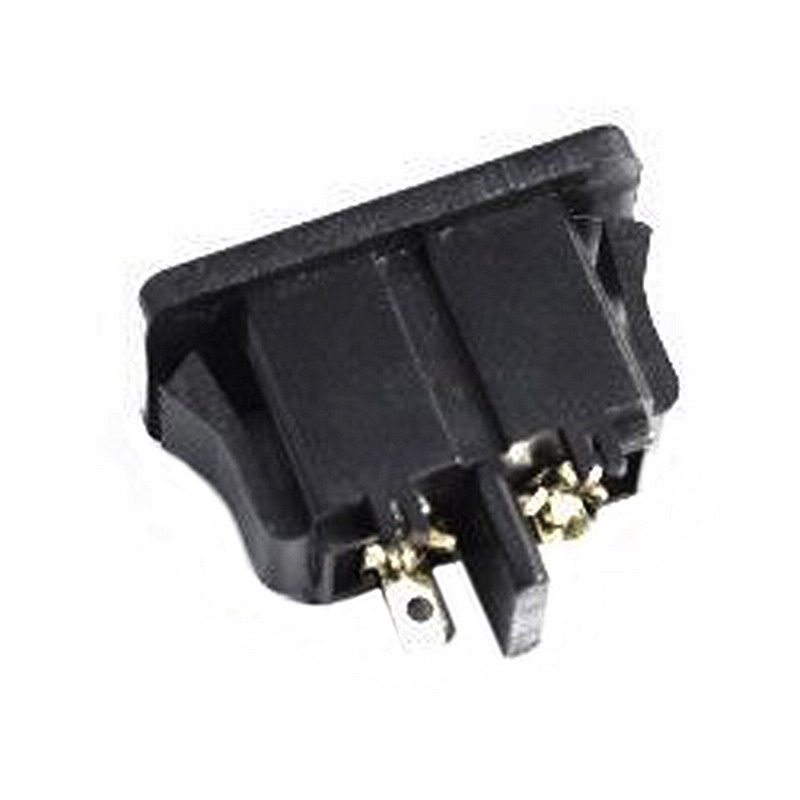 5Pcs AC250V 2.5A IEC320 C8 Male 2 Pins Power Inlet Socket Panel Embedded HC