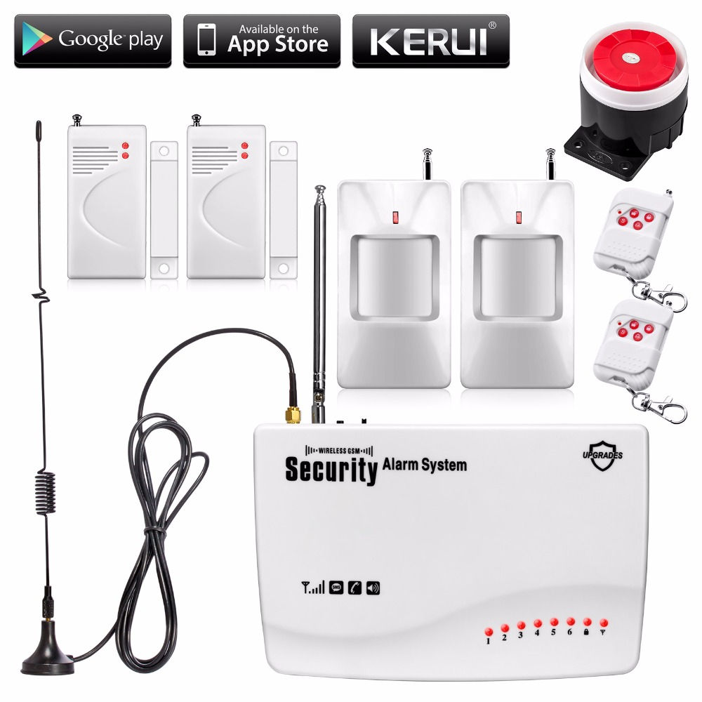 ФОТО Wireless GSM Home Alarm Security Burglar Alarm System Auto Voice Dialing SMS Call