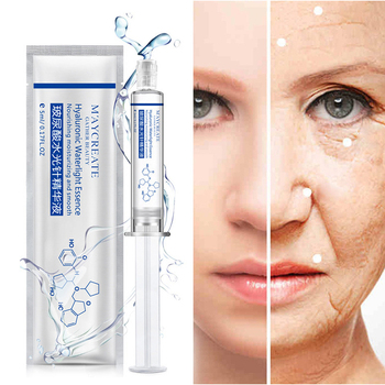 Hot Fashion Beauty 5ml Hyaluronic Waterlight Essence Silk Protein Acid Liquid Moisturizing Anti Wrinkle Collagen Skin Care New Health & Beauty
