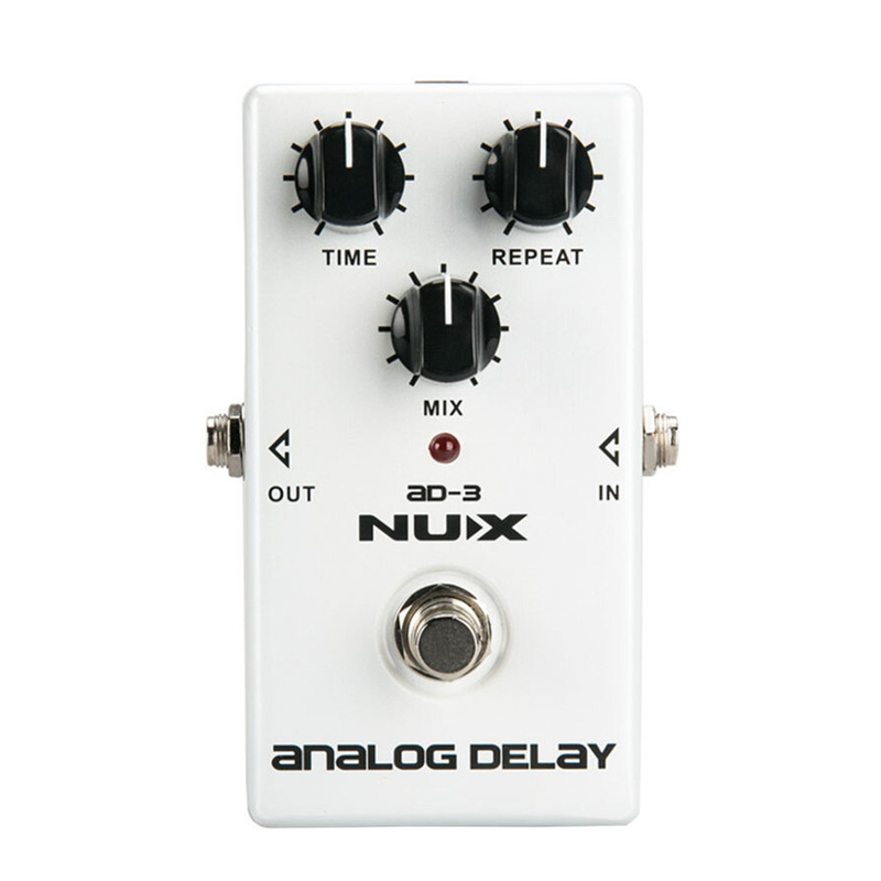 Best Deal AD-3 Guitar Effects Pedal Analog Delay Effect 300ms Max Delay Time Warm Echoes Sound True Bypass Guitar Effects Pedal аудио аппаратуру в москве ms max