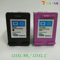 For HP 123 Compatible Ink Cartridge For HP123 Xl Deskjet 1110 1111 1112 2130 2132 3630