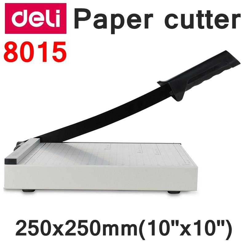 readstar deli 8015 manual tamanho do aparador de papel 250x250mm 10 x 10 aparador de