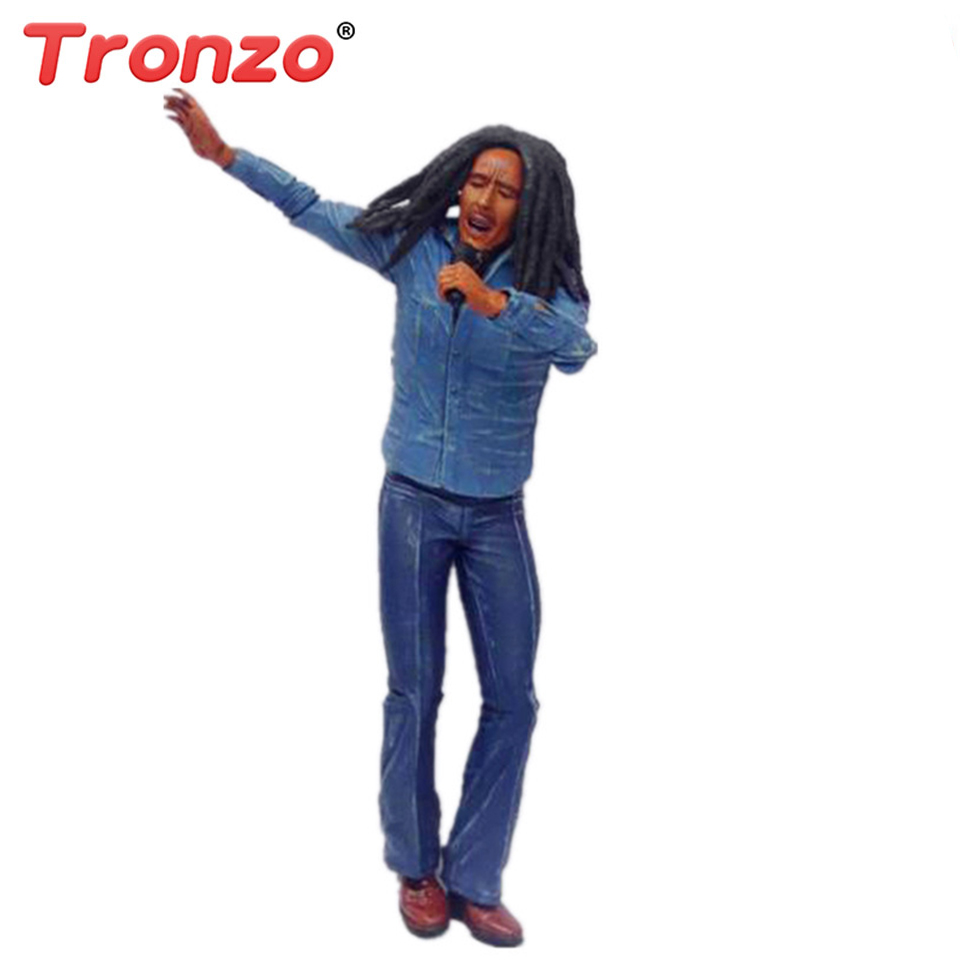 Tronzo 18cm Action Figure The Legend Singer Bob Marley Famous Jamaica Singer Collection Model Toy With Microphone Gift For BoyTronzo 18cm Action Figure The Legend Singer Bob Marley Famous Jamaica Singer Collection Model Toy With Microphone Gift For Boy