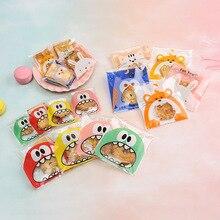 100 шт мешок для выпечки лук прозрачный мешок для печенья Ziplock мешок для печенья экологический мешок для еды для здоровья