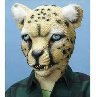 2013 Hot bán Full đầu tuyệt vời Leopard mặt nạ Impressive đạo cụ trang phục Realisic Halloween đạo c