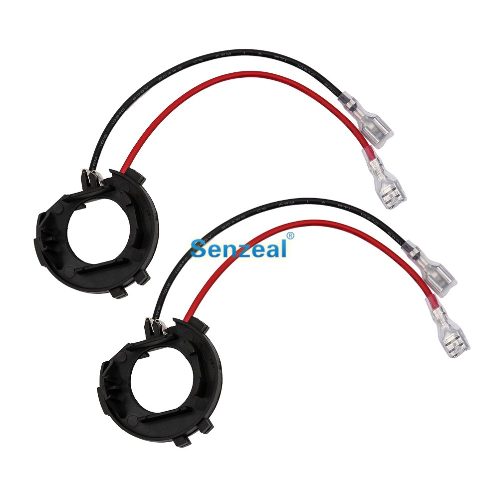 Senzeal 2x H7 Led Bulbs Headlight Adaptor Holder Plastic Car Bulb Light Lamp Socket Base Retainers D06 For Auto Car G O L F 7 To Have A Unique National Style Base