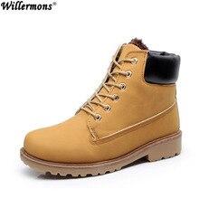 Зимние мужские модные теплые повседневные ботильоны короткие теплые боты обувь повседневные мужские кожаные сапоги для мужчин coturnos masculino