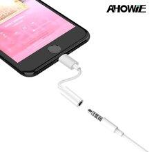 Ahowie аудио зарядный адаптер для Iphone X XR XS Max 8 7 6 Plus Aux Jack 3,5 мм аудио кабель для Ipad Apple Iphone XS 5SE конвертер