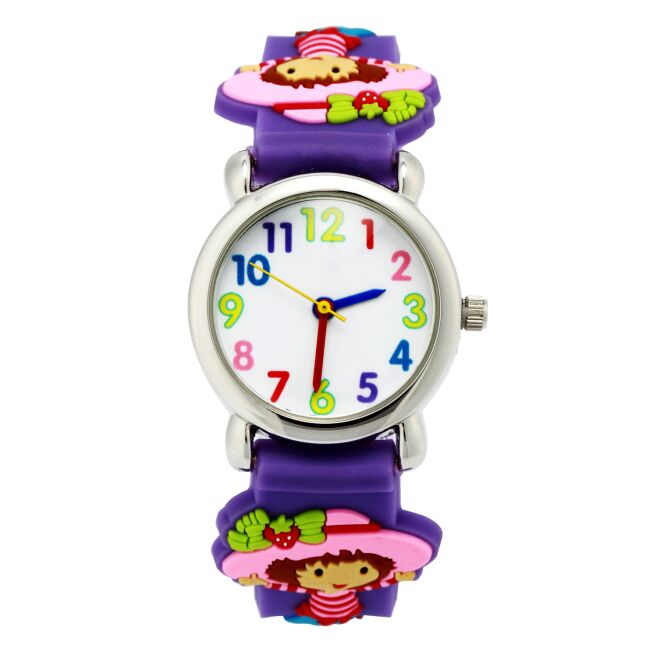 High quality Watch for girls strawberry Waterproof Kid Watches Brand Quartz Wrist Watch Baby Girls Boys Fashion Casual Reloj