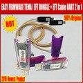Новейшая 100% оригинальная легкая прошивка TEMA/EFT ключ + кабель EFT UART 2 в 1 Бесплатная доставка