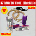 2018 más nuevo 100% Original fácil FIRMWARE TEMA/EFT DONGLE + EFT Cable UART 2 en 1 Envío Gratis