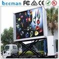 Leeman Функция Видео Открытый Водонепроницаемый Полноцветный P10mm LED Мобильной Рекламы Автомобиля злоречивым/Светодиодный Экран Автомобиля