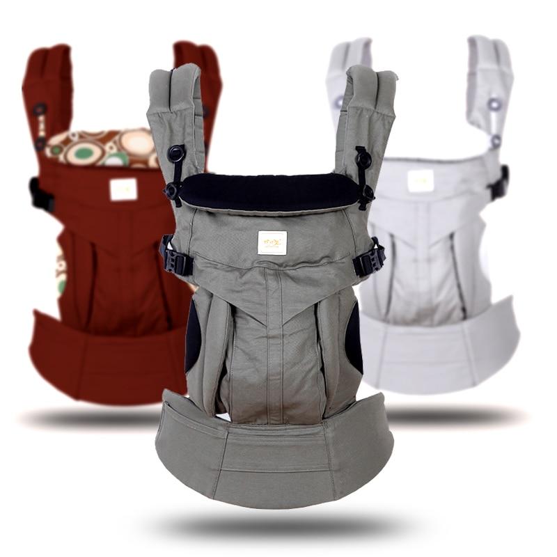 Omini Ergonomique 360 Bébé Transporteurs Backpacks0-36 mois Portable Bébé  Sling Wrap Coton Infantile Nouveau a7ce25a90b2