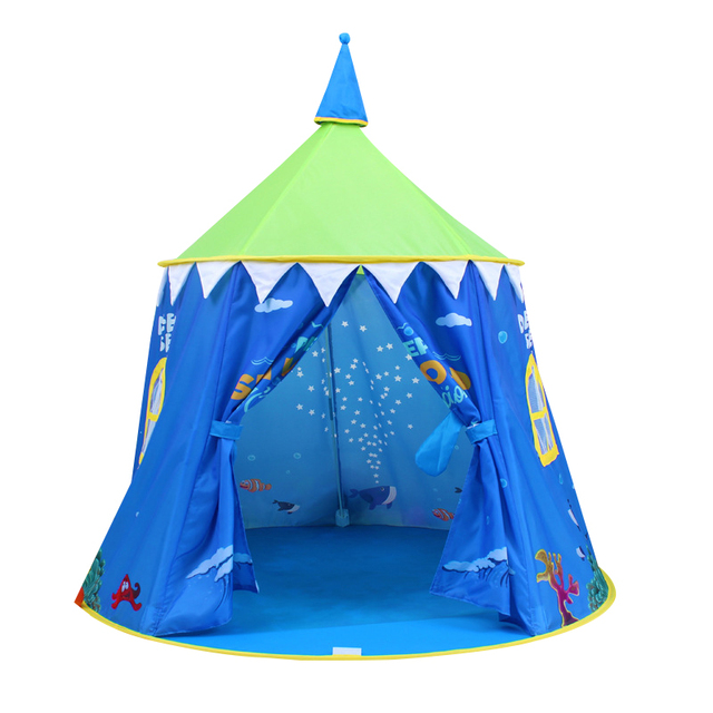 Aliexpress.com : Buy YARD Portable Princess Castle Tent Kids Folding ...
