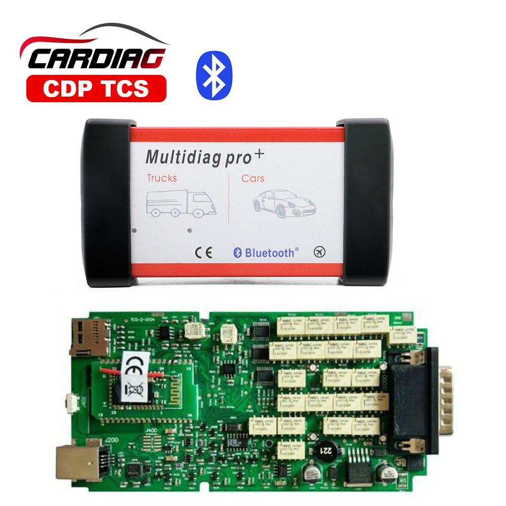 Prix pour Multidiag pro avec bluetooth Unique Conseil PCB TCS PRO CDP TCS Plus 2015. R3 avec keygen OBDII OBD2 Outil De Diagnostic pour voiture/camion