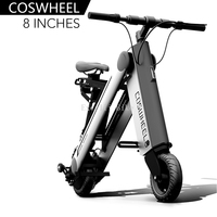 8 inches Electric scooter Smart city walking electric bicycle mini folding electric bike instead walking tool 36v liion ebike