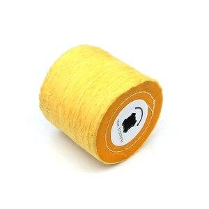 Image 2 - 1 stück 120*100*19mm + 4 Nut, Baumwolle Tuch Polieren Polieren Rad für Metall Finishing