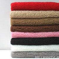Half The Cotton Velveteen Plush Fabric Is Super Soft Blankets Lining Lining Lamb