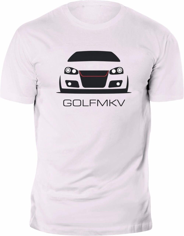 2019 Hot Sale 100% Cotton New T-shirt Golfs MK5 MKV GTI R32 Tee 100% Cotton Custom Print Tee Shirt