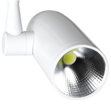 9W COB LED Track Rail Spotlight Tracking Light Bulb Back Lighting Aluminum Alloy for Commercial and Residential Lighting