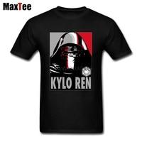 Star Wars Kylo Tees Shirt Men Gorgeous White Short Sleeve Custom 3XL Family T Shirts