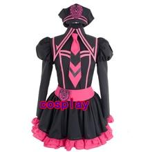 Vocaloid Luka PV Uniforme Cosplay Lolita Vestido de Fiesta Completo set + Sombrero Traje de Halloween para las mujeres