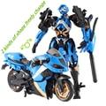 Motocicleta Modelo de Transformación Al West Carroll Coche Robot Acción juguetes de Anime Juguetes De Plástico Figura de Acción de Niños Juguetes de Regalo Para El Muchacho