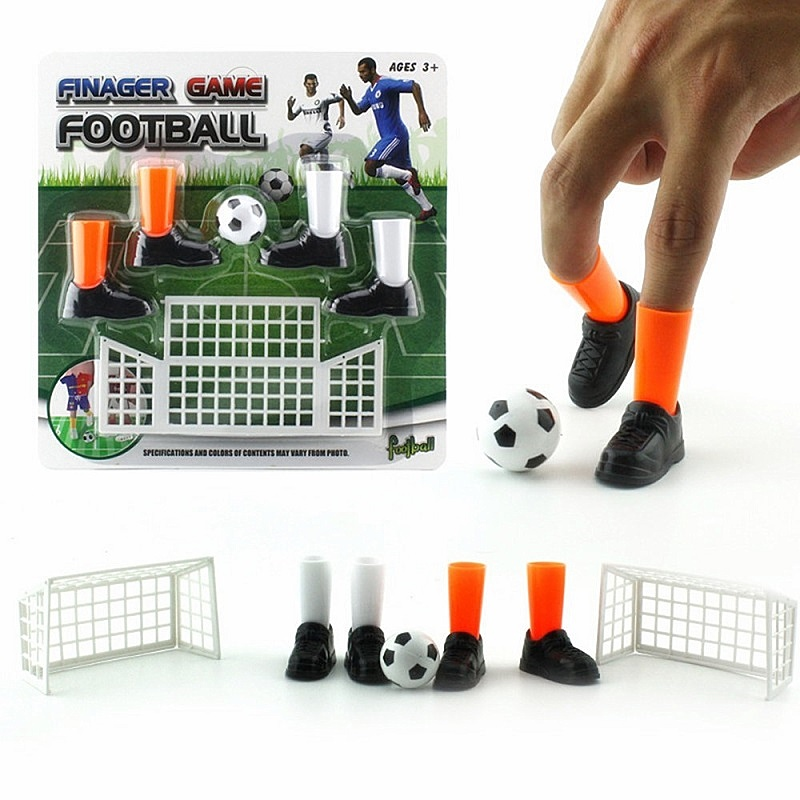 Finger Soccer Game Match Ideal Party Finger Football Toy Funny Finger Toy Game Novelty Table Game Toys For Children Adults Gift