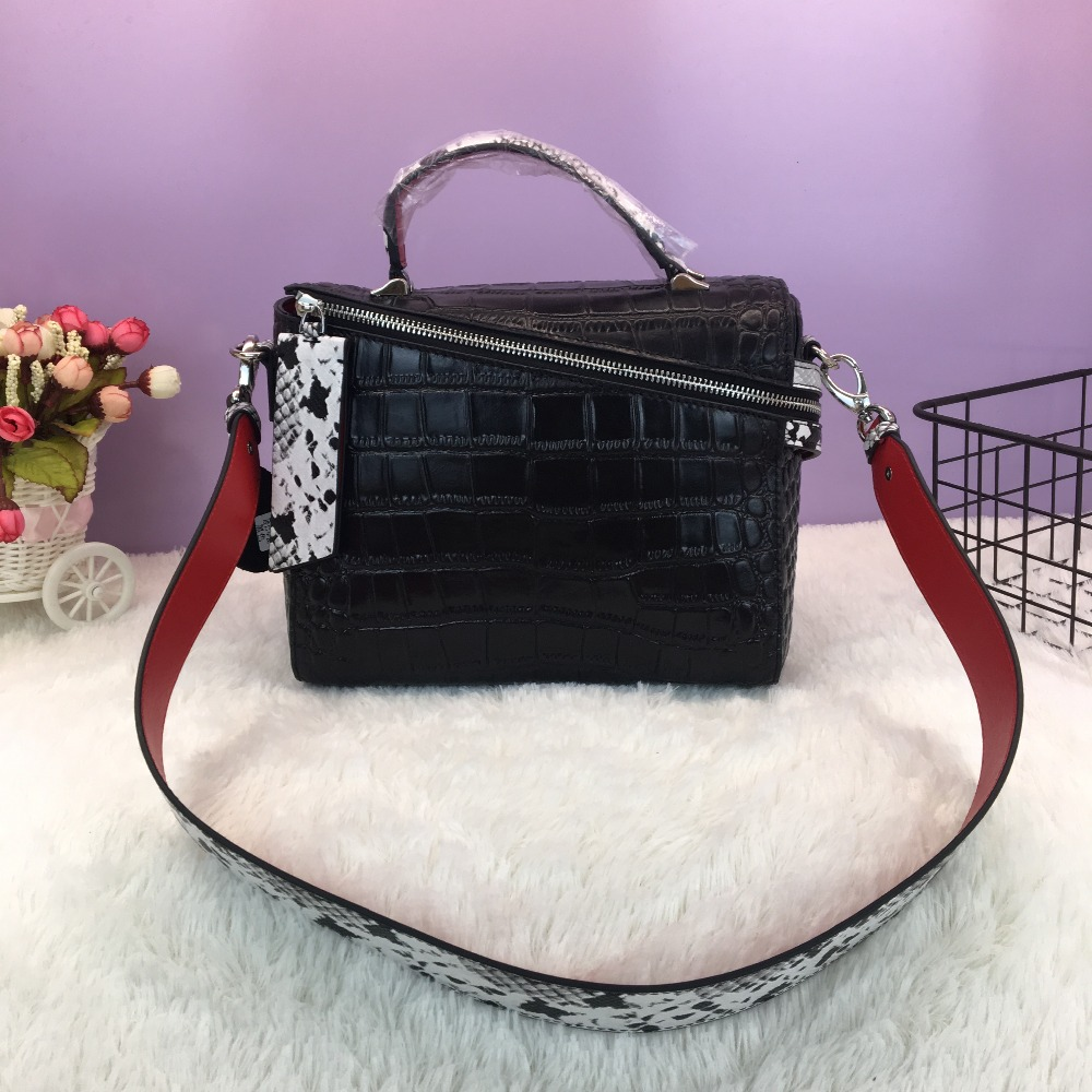2017 women famous brand luxury genuine leather bag high quality female crocodile pattern leather crossbody messenger bag bolsas 2017 women famous brand luxury genuine leather bag high quality female crocodile pattern leather crossbody messenger bag bolsas