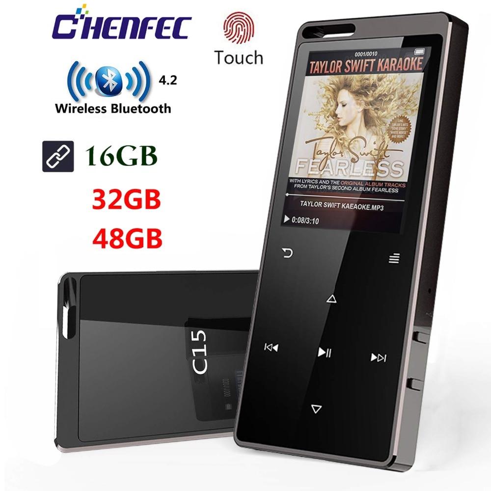 Bluetooth4.0 HiFi MP3 Player 1.8In Screen 16GB Touch Key hif