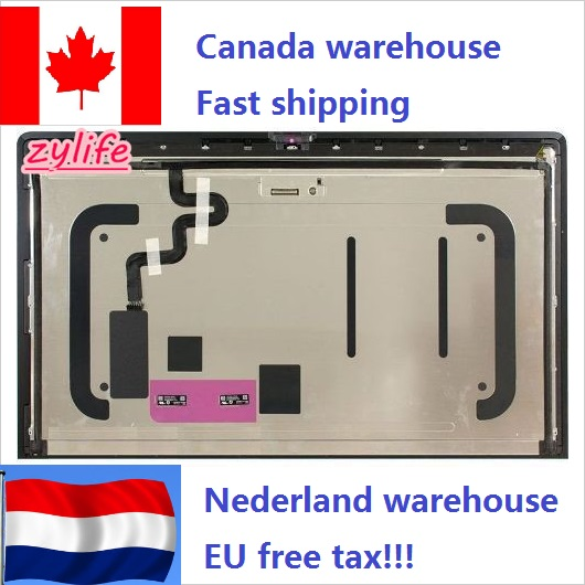 "Ship from Canada Netherlands USA no tax New lcd LM270QQ1 SD C1 for 27"" Apple iMac A1419 5K LCD Screen Assembly 2017 IPS Retina"