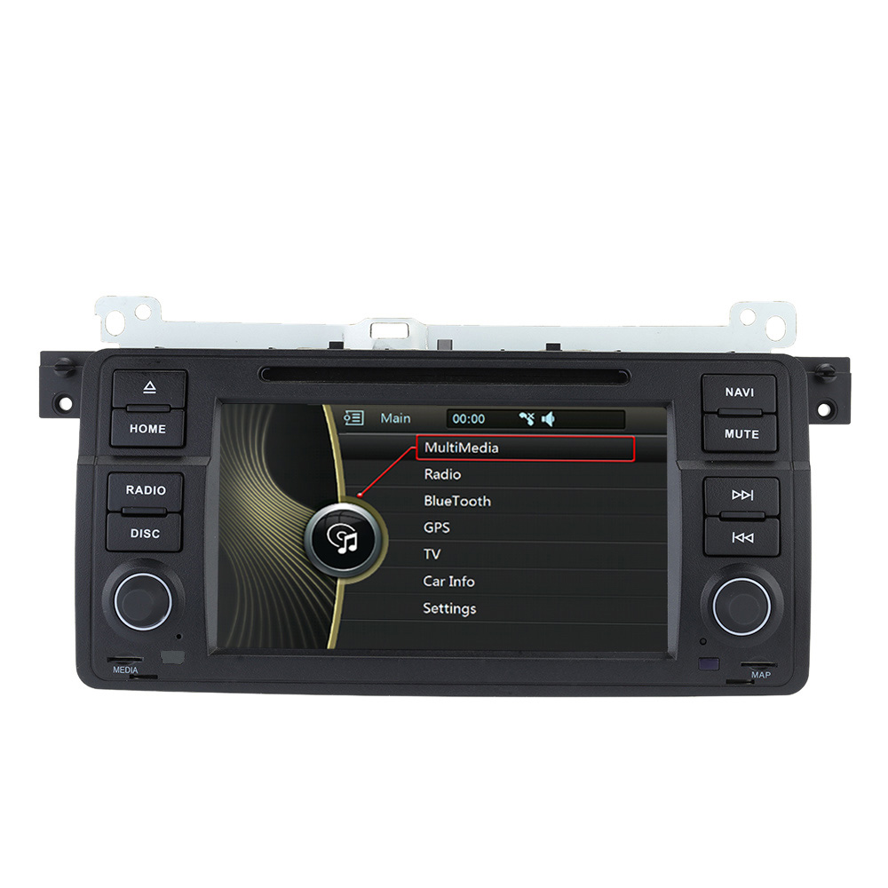 """7"""" Touch Screen 2 Din Car DVD Player GPS Navigation In"""
