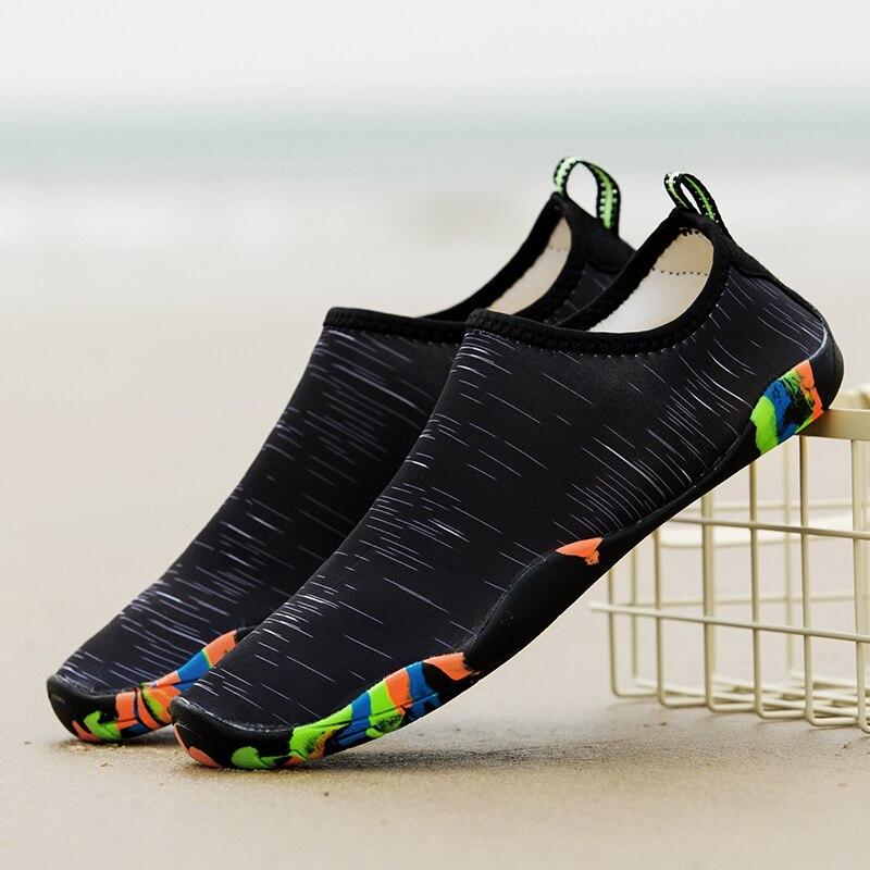 2018 Mâle Femelle Aqua Chaussures de Plage En Plein Air Chaussures En Amont Creek En Apnée Bottes Néoprène Plongée Non-Glissement Pantoufles Pour la Baignade