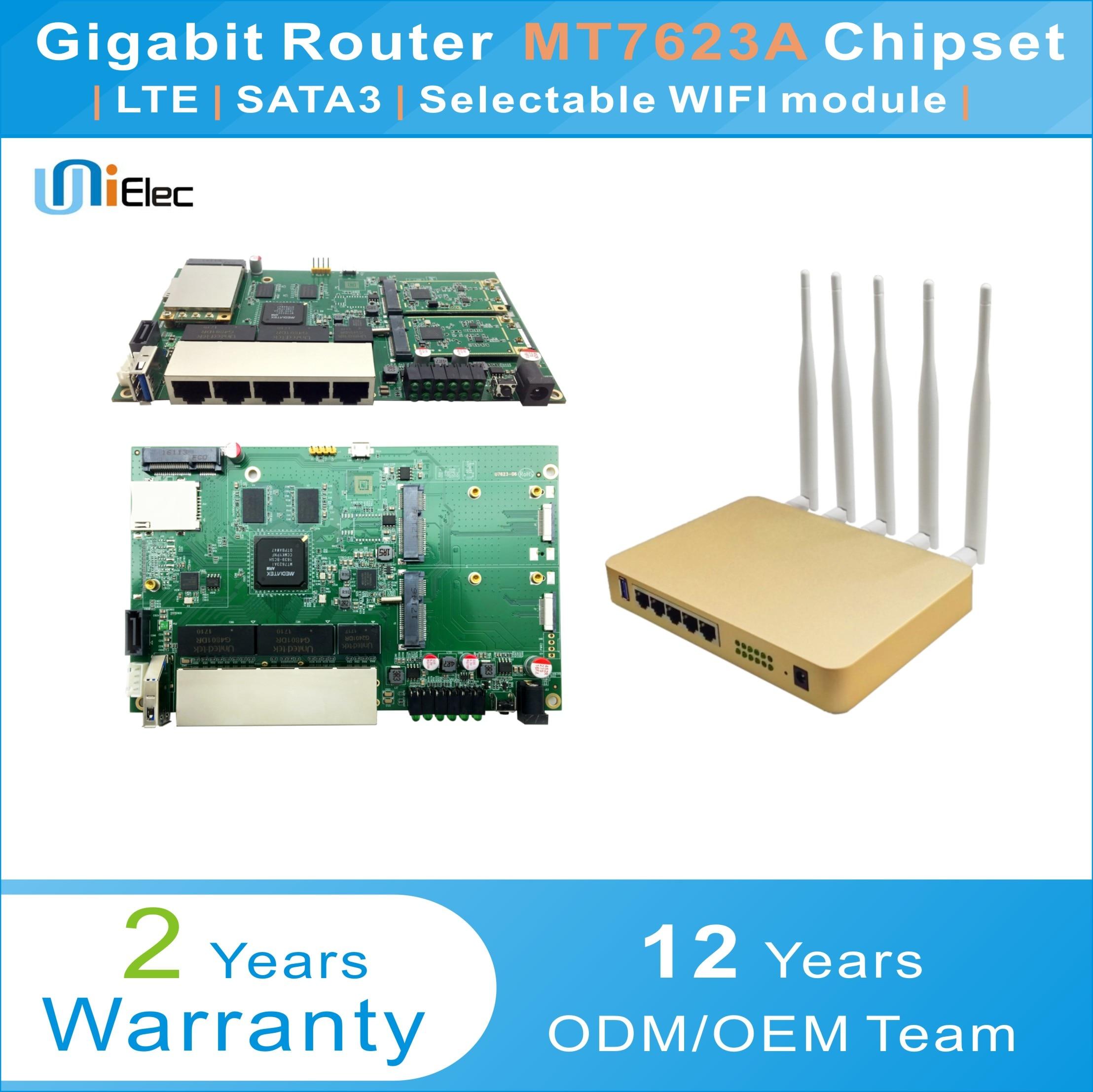 US $136 87 |MTK MT7623 Enterprise Router LTE 4G WIFI OpenWrt Wireless  MT7612 MT7615 MT7623A Chipset Gigabit PCBA ODM OEM Sim Card Board-in  Wireless