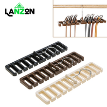 Lanzon Multifuction Belt Storage Rack Rotating Tie Belt Hanger Holder Shelf Closet Shelves Wardrobe Space Saver Scarf Rack Bag