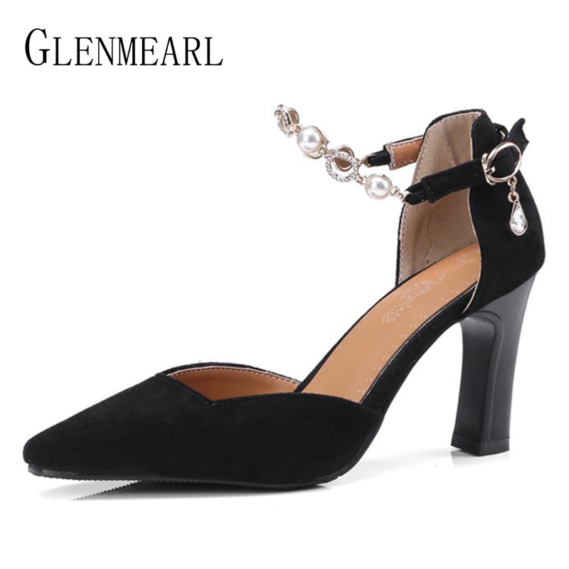 Brand Women Pumps High Heels Shoes Spring Pointed Toe Slip On Woman Wedding Shoes Bling Dress Shoes Ladies Plus Size 2018 DE sexy bling bling glitter high heel pumps women pointed toe metal heels party dress shoes slip on office lady dress shoes