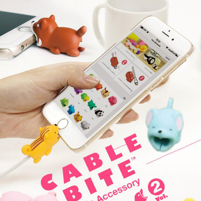 HTB1d6.eXtjvK1RjSspiq6AEqXXa6 1Pcs Cute Animal Cable Protector Cord Wire Cartoon Protection Mini Silicone Cover Charging Cable Winder For Iphone Charger Cable