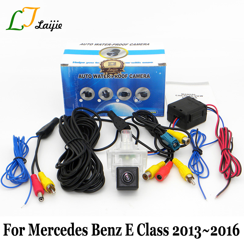 Laijie Reverse Parking Camera For Mercedes Benz E Class W212 S212 C207 Facelift After 2013 2016